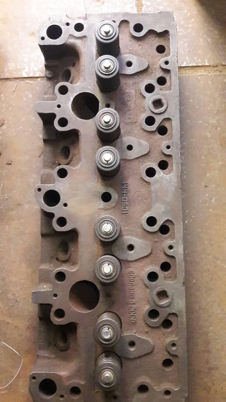 Головка блока цилиндров СМД-18 (14Н, 22, 23) комбайн НИВА, трактор ДТ-75