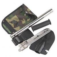 Туристический набор 4 в 1: саперская Лопата Топор Пила Нож с чехлом