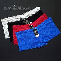 Кружевные трусики-шортики YaLanNi 750-1. Размер 40 на бедра 86-89 см