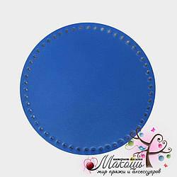 Дно для сумки круглое 20 см, 003, синий