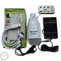 Лампа и Power Bank 1200 mAh с пультом и солнечной панелью., фото 1