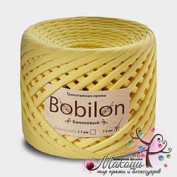Трикотажная пряжа Бобилон Micro 3-5 мм, банановый