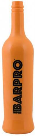 """Бутылка """"BARPRO"""" для флейринга оранжевого цвета H 300 мм, фото 2"""