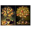 Бумага для декупажа 21х30 см фруктовые деревья
