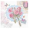 Серветка Вінтажні троянди, яскраві