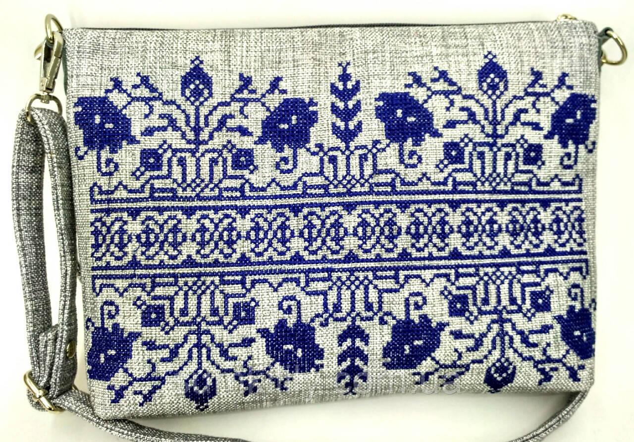 Текстильная сумка с вышивкой  Сокаль 5