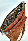 Текстильна сумка з вишивкою Сокаль 7, фото 3