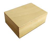 Шкатулка деревянная прямоугольная 13х5х9 см, ТМ Albero