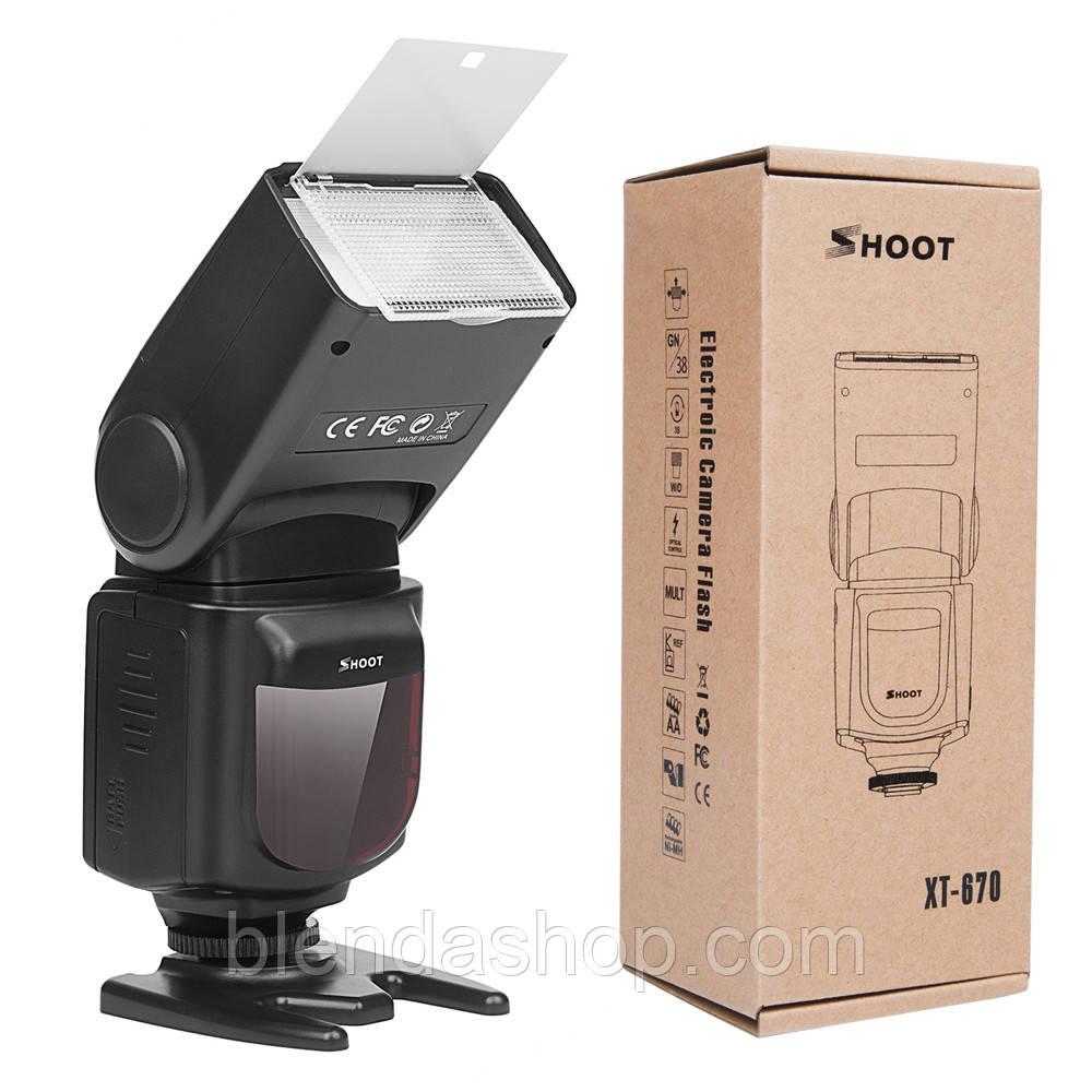 Вспышка для фотоаппаратов Samsung - SHOOT Speedlite XT-670