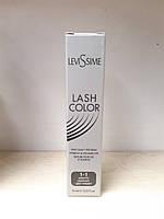 LEVISSIME  краска для бровей и ресниц графит №1-1