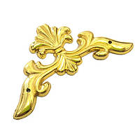 Накладка декоративна на кут 60х60 мм золото, 4 шт.