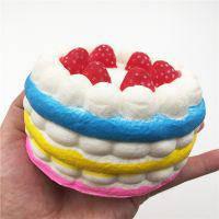 Антистресс-игрушка Сквиши Торт 11*7см
