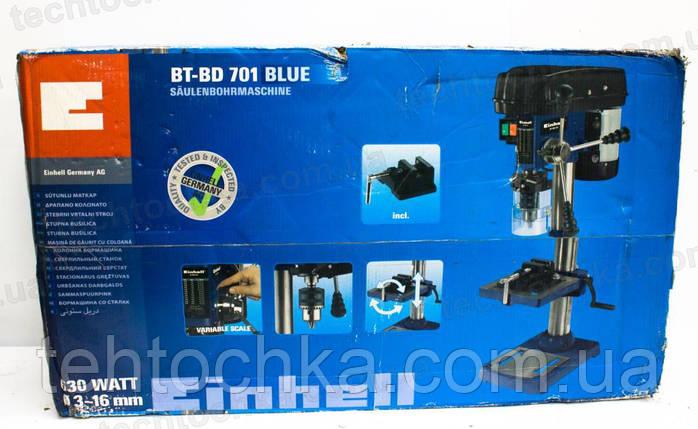 Сверлильный станок Einhell Blue BT-BD 701, фото 2