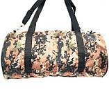 Військові дорожні сумки камуфляжні (камуфляж хакі)24*47, фото 2