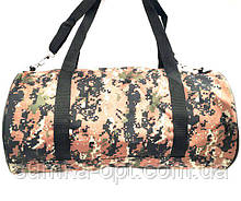 Військові дорожні сумки камуфляжні (камуфляж коричневий)24*47