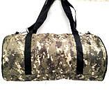 Военные дорожные сумки камуфляжные (камуфляж коричневый)24*47, фото 3