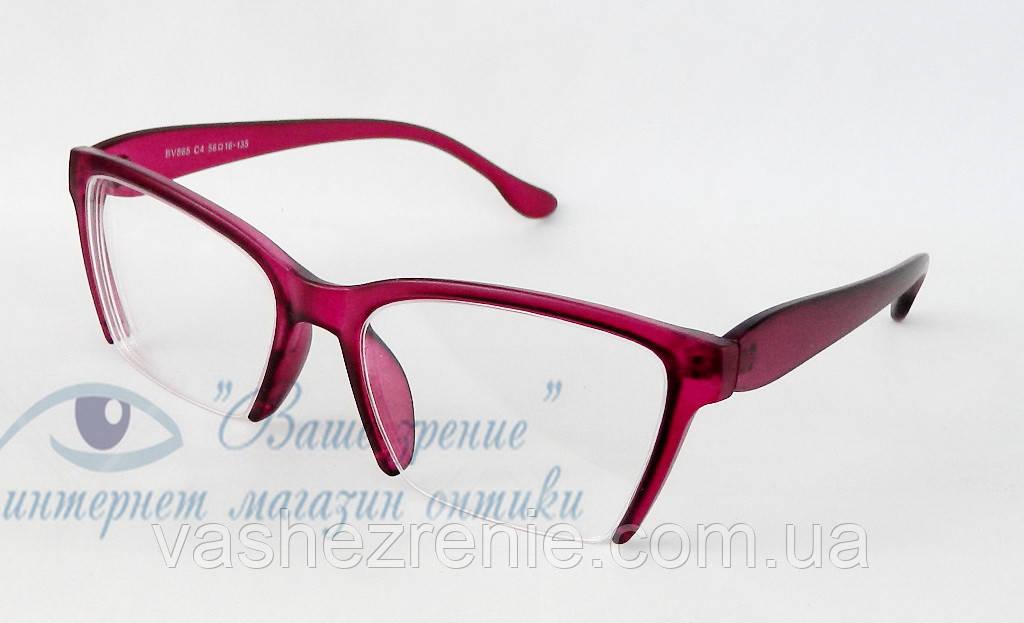 Очки женские для зрения, с диоптриями +/-. Код:1123