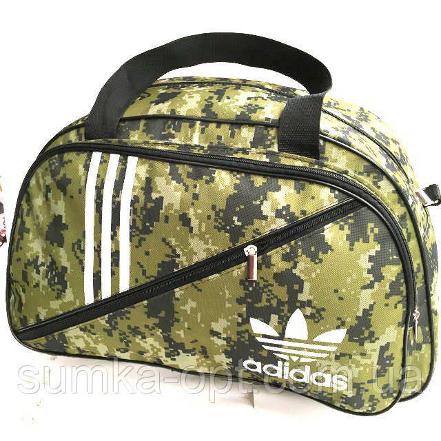 Военные дорожные сумки камуфляж Adidas (хаки)32*50