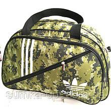 Військові дорожні сумки камуфляж Adidas (хакі)32*50