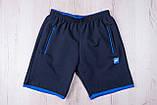 Чоловічі трикотажні шорти NIKE, темно-синього кольору, фото 4