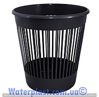 Корзина для бумаг 12 литров черная