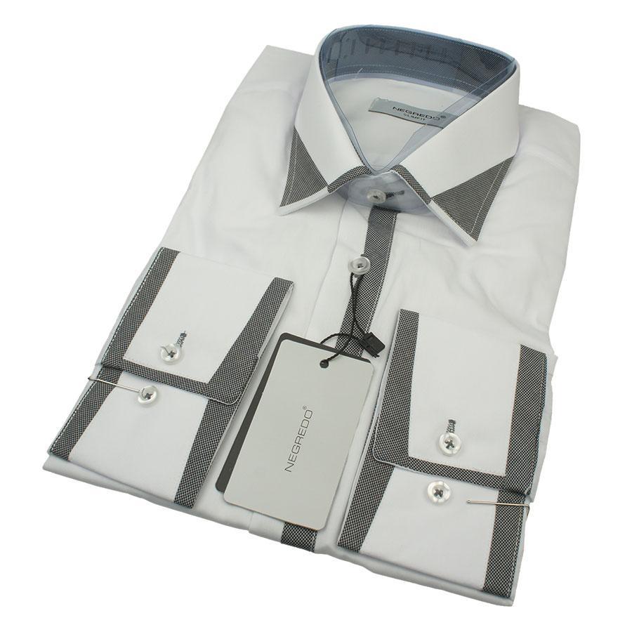 Мужская рубашка Negredo 0350 Н Slim С размер М в разных цветах