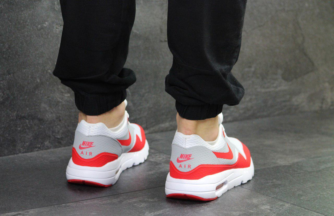 13f5bc89 Мужские кроссовки Nike Air Max 1 Flyknit White/Red, цена 799 грн., купить в  Киеве — Prom.ua (ID#716997542)