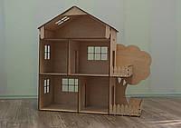 Дерев'яний Ляльковий будиночок (ручна робота)