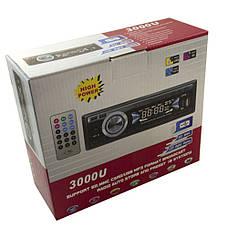 Автомагнитола Sony 3000U Hi-Power 2011006763 + ПОДАРОК: Настенный Фонарик с регулятором BL-8772A, фото 3