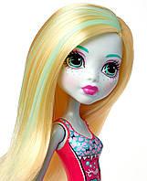 Лагуна Блю Пляжная серия Бюджетная куколка Monster High Lagoona Blue Doll