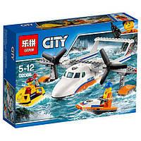 Конструктор Lepin 02066 Спасательный служба - самолет амфибия 153 деталей, фото 1