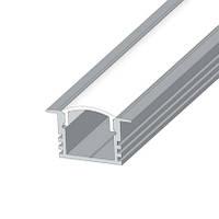 Алюминиевый профиль LED ЛПВ12 + Рассеиватель (матовый/прозрачный)