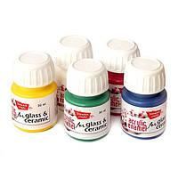 Краска для росписи стекла и фарфора покрывная 30 мл, Stewart Studio