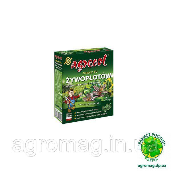 Agrecol 1,2 кг для живых изгородей и декоративных кустарников
