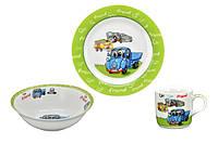 Набор посуды детский Машина LADYBIRD 3 предмета
