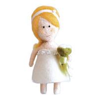Набор для валяния игрушки Невеста В-168