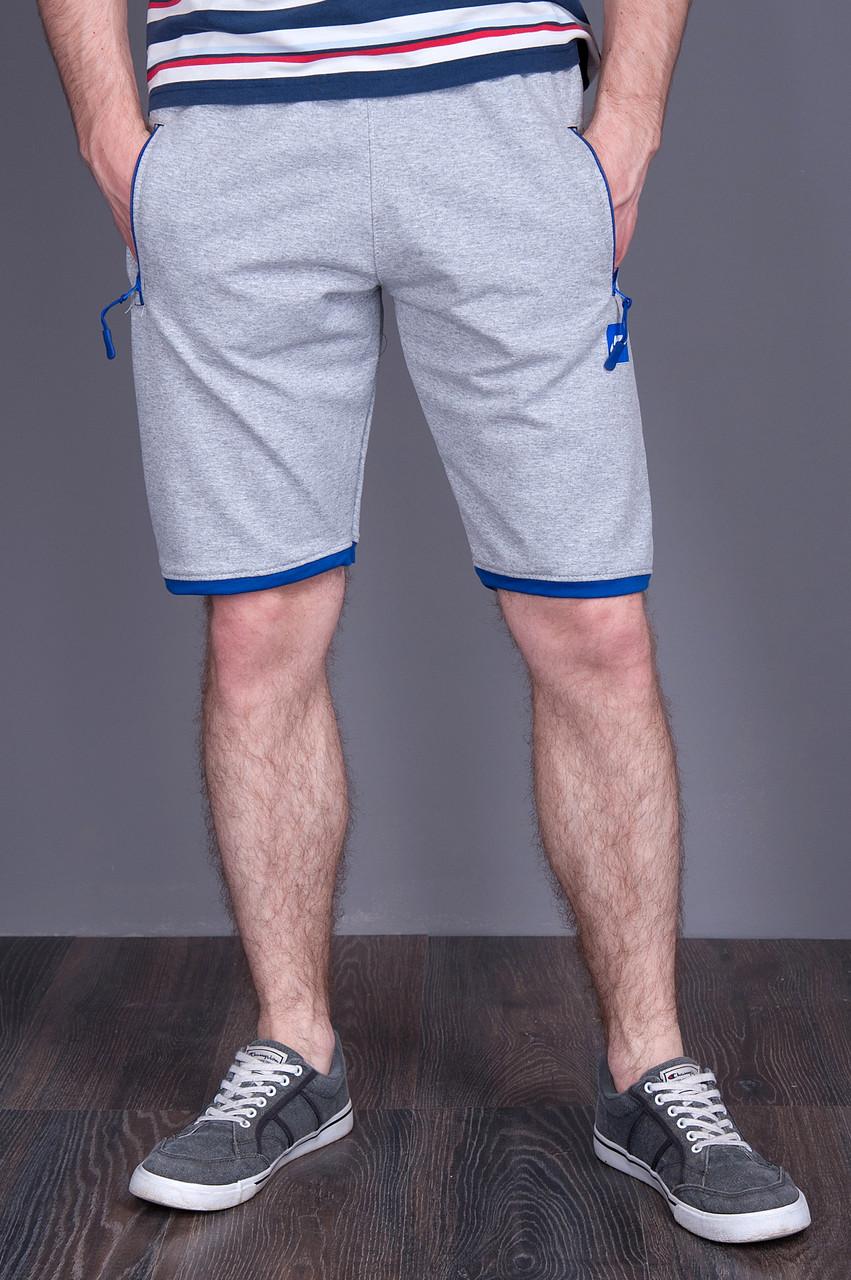 Чоловічі трикотажні шорти NIKE, світло-сірого кольору