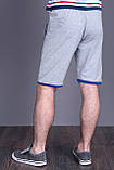 Чоловічі трикотажні шорти NIKE, світло-сірого кольору, фото 3