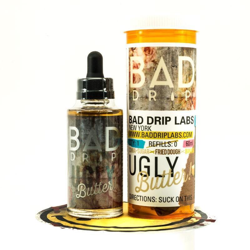 Премиум жидкость BAD DRIP - Ugly Butter 60ml [3mg] (Original)