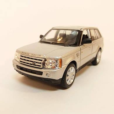 Автомодель металлическая Range Rover Sport KINSMART серебро KT5312W