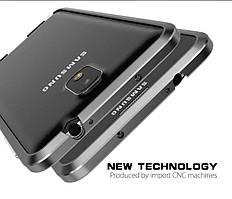 Металлический бампер Luphie для Samsung Note 3 N9000/N9005