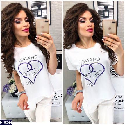 Женская футболка сердце, фото 2
