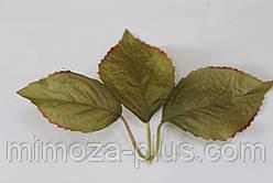 Лист вишни, 16 см