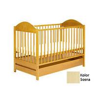 Детская кроватка Klups Ewelina II сосна