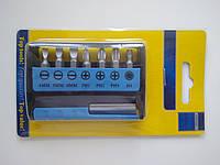 Набор бит с магнитным удлинителем, фото 1