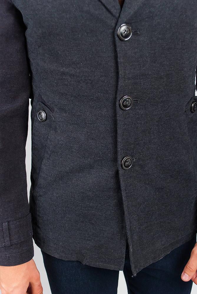 Куртка мужская стильная  19PG042 (Графит)