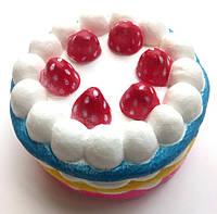 Сквиши Squishy антистресс тортик с ароматом