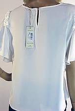 Нарядна  блузка з короткими рукавами воланами Miss Poiss, фото 3