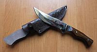 Нож охотничий Олень Б, ручная работа, с кожаным чехлом в комплекте
