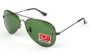 Солнцезащитные очки Ray Ban Реплика металл. оправа RB3025-W0879 (стекло)